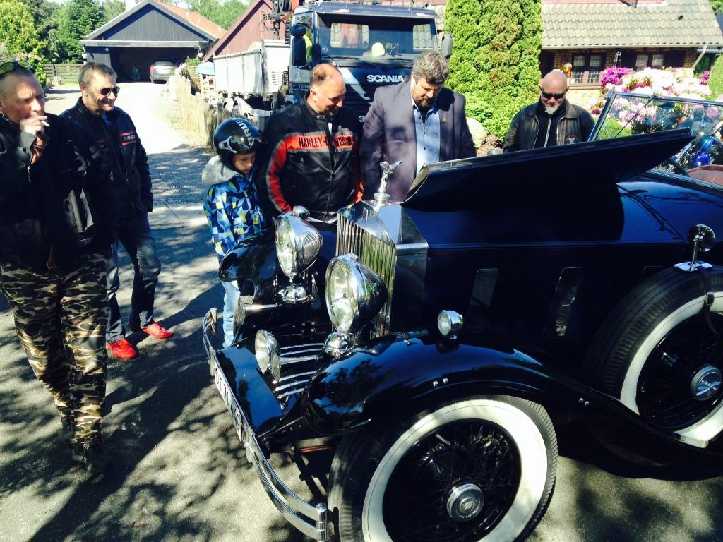 Rolls-Royce'en inspiceres