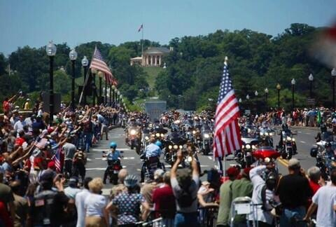 """Rolling Thunder"" 2014 i Washington D.C."