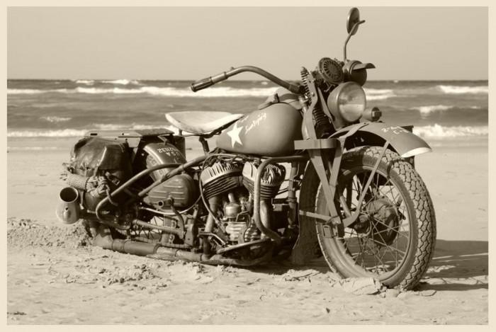 Harley-Davidson producerede under Anden Verdenskrig 88.000 WLA-maskiner til USA's hær