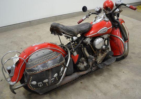 Den sjældne 1942 Harley-Davidson F 1200