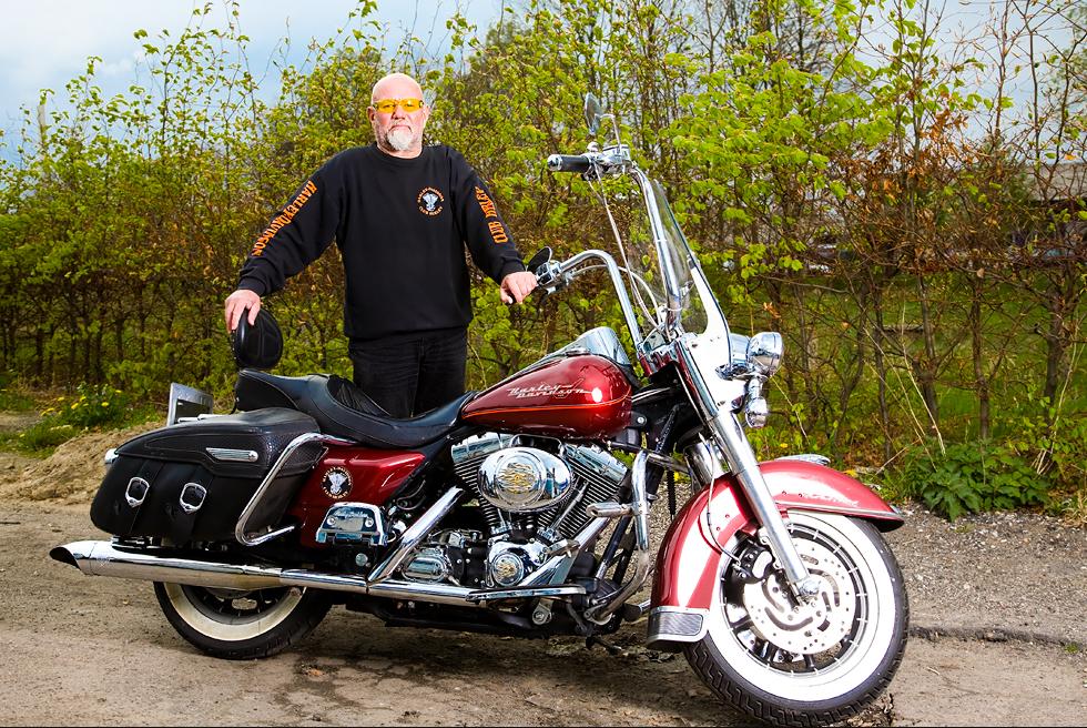 Steen Hjort - stiftende medlem af Harley-Davidson Club Herlev